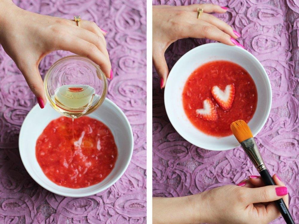 Masca din căpșuni vă va revigora tenul