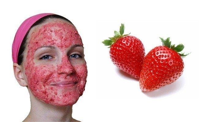 După ce veți folosi masca din căpșuni și argilă veți avea un ten strălucitor
